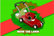 Mow The Lawn printable gift card