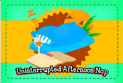 Uninterrupted Afternoon Nap printable gift card