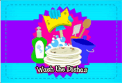 Wash The Dishes printable gift card